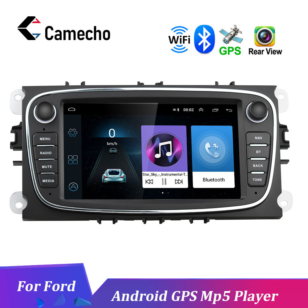 Podofo 2 Din 10 1 '' car radio Android 8 0 HD1080P 1+16gROM