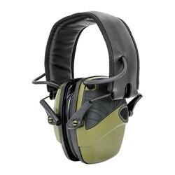 Taktyczne elektroniczne strzelanie nauszniki anty-hałas wzmocnienie dźwięku słuchawki ochronne słuchawki sightlines gąbka earpads