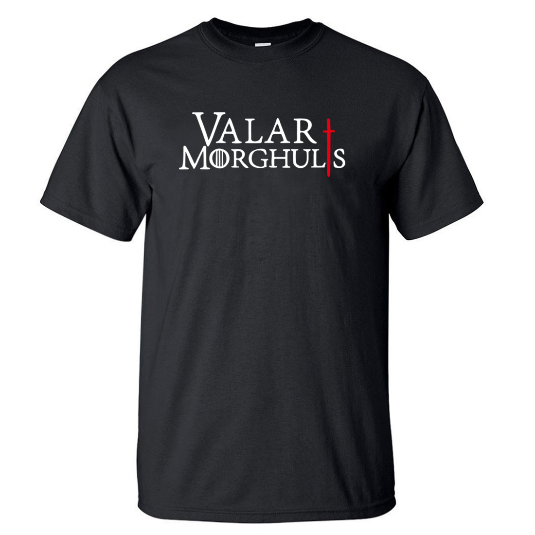 Game Of Thrones Valar Morghulis Men's Top Tees 2018 Summer Hot Men T Shirts 100% Cotton High Quality Short Sleeve O-Neck T-Shirt