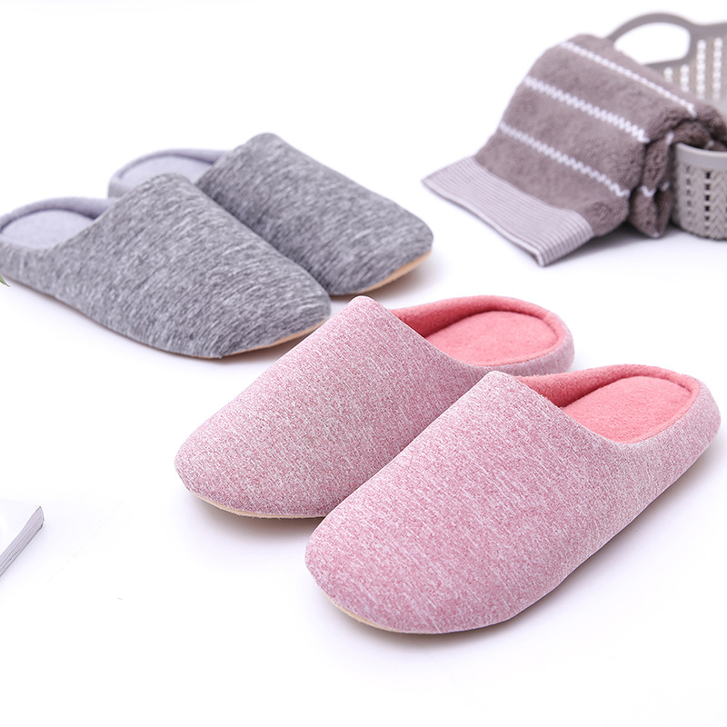 Unisex Indoor Fluffy Plush Slip On Slippers Casual Fashion Lightweight Shoes
