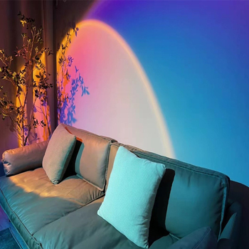 2021NEW projektor atmosfera Led lampka nocna do pokoju domowego dekoracja ścienna w tle kolorowa lampka nocna tanie i dobre opinie Yabstrip Night Light CN (pochodzenie) ROHS NONE Lampki nocne Żarówki LED PRZEŁĄCZNIK HOLIDAY 0-5 w