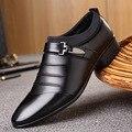 Sapatos masculinos 2019 primavera sapatos de couro apontou sapatos casuais sapatos de negócios masculinos sapatos masculinos sapatos respiráveis