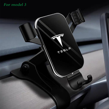 For Tesla Model 3 2017-2019 Car Phone Holder Dashboard Mount Stand Car Cell Phone Holder GPS Display Bracket new arrival smart cell phone holder mount head up display car hud phone gps navigation wireless charger stand for iphone 8 plus