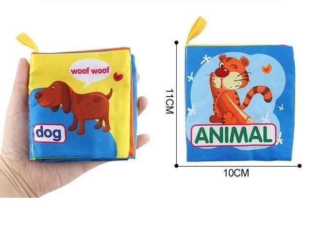 لطيف الرضع كيد المخابرات السرير الكتب Cognize الطفل الحيوان القماش كتاب التنمية لعبة ولها أكثر لون اختيار للاهتمام