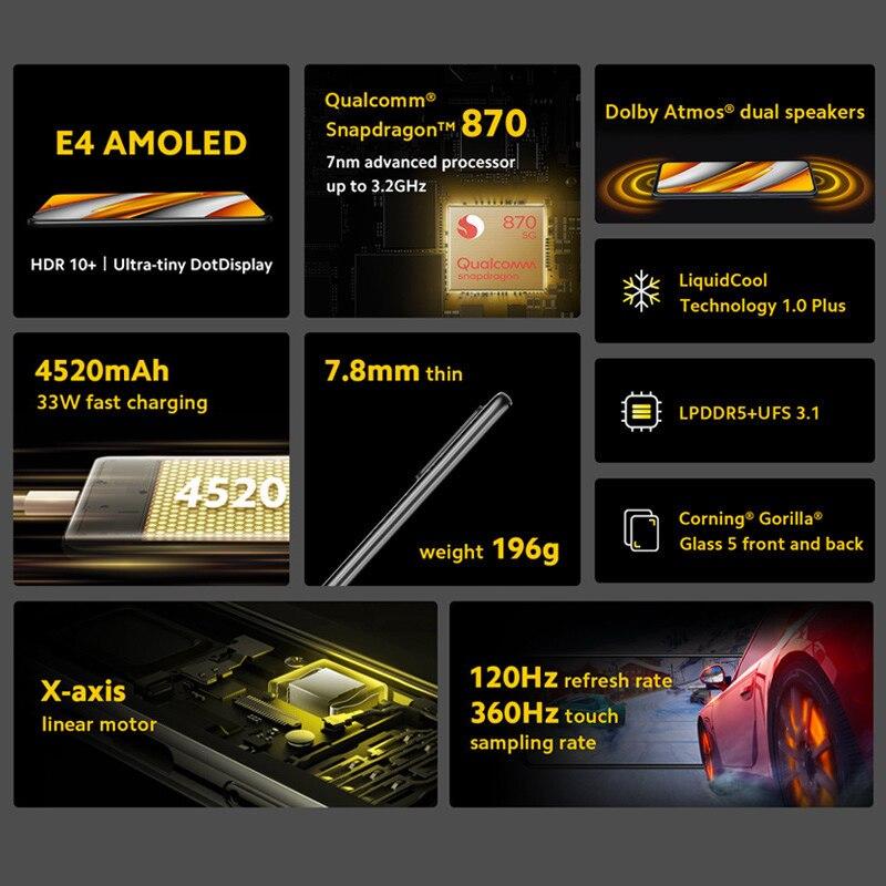 Xiaomi Poco F3 6GB 128GB 3