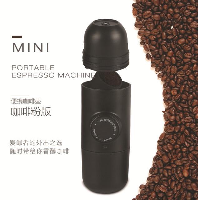 2021 The New Listing Hand Pressed Espresso Mini Coffee Machine Assembly Table Hot Sale Genuine Berserk