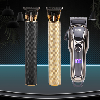 Professional  USB Electric Hair Trimmer Hair Clipper Beard Trimmer Shaver Cutting Machine Cordless Haircut For Men Barber rechargeable hair clipper electric shaver beard trimmer professional barber haircut cutter mower cutting machine razor for men