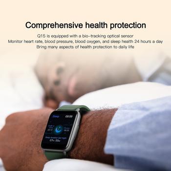 LYKRY Q15 Smart Watch Smartwatch Women 1.69 inch Screen 22MM DIY Watch Face Long Battery Blood Presure Men's Watches PK P8 PLUS 5