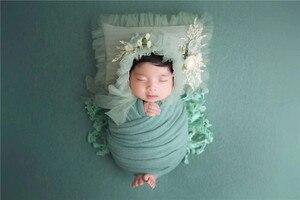 Image 5 - 150*170cm yenidoğan fotoğraf sahne battaniye bebek battaniye zemin kumaşlar çekimi Studio aksesuarları