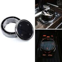 Car Multimedia Button Cover Knob Frame Trim For BMW F10 F20 F30  For NBT Controller Only Ceramic For iDrive Button for idrive car multimedia button cover trim knob sticker for bmw f10 f20 f30 3 5 series x3 x4 for nbt controller car accessories