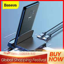 Baseus Type C HUB Docking Station For Samsung S10 S9 Dex Pad Station USB C To HDMI Dock Power Adapter For Huawei P30 P20 Pro