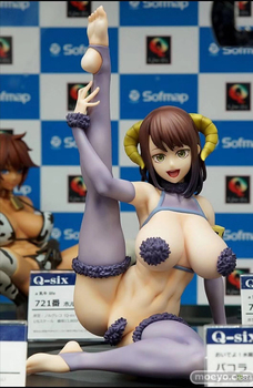 20cm Q-Six Oideyo! Mizuryu Kei Land Pacola Action Figure Anime Sexy Girl PVC Model Collection Toys