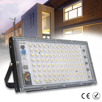 100W Reflector LED 220V AC impermeable IP65 al aire libre, proyector de luz para exteriores Reflector LED foco lámpara de calle iluminación gran oferta