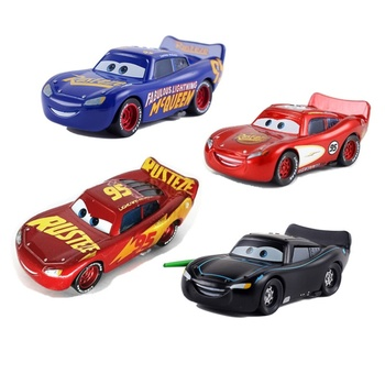 Disney Pixar Racing 2 3 Golden Thunder McQueen handsome ATV 1:55 alloy car
