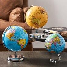 Acessórios de decoração do hogar, globo terráqueo giratorio, modelo de mundo, mapa do mundo, geografía, mapa de constelacione