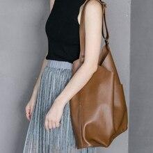 casual soft leather women shoulder bags designer brand luxury pu buckets bag large capacity totes big female purses shopper bag недорого