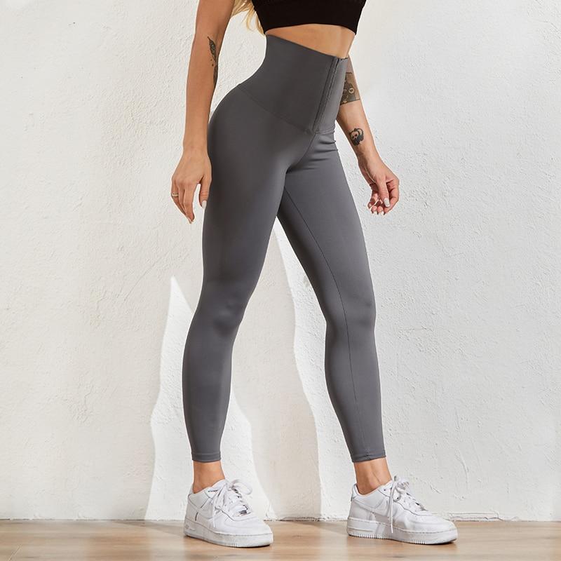 Women Legging for Fitness High Waist Leggings Push Up Sports Leggings Women Sexy Slim Black Legging Sportswear 4