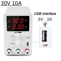 DC Switching Power Supply Adjustable 30V 10A Bench Source Digital Voltage Regulated Current Stabilizer 30 V