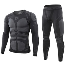 New Men Thermal Underwears Winter Warm Sports Long Johns Out