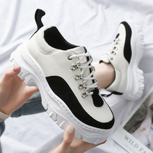 Shoes Woman High Platform Sneakers 2019 Spring Female Shoes
