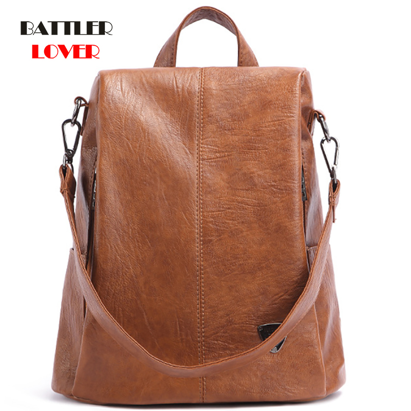 Women Backpack Genuine Leather Shoulder Anti-theft Back Zipper Pad Phone Pocket Pouch Lady Business Travel Mochila Escolar Gifts