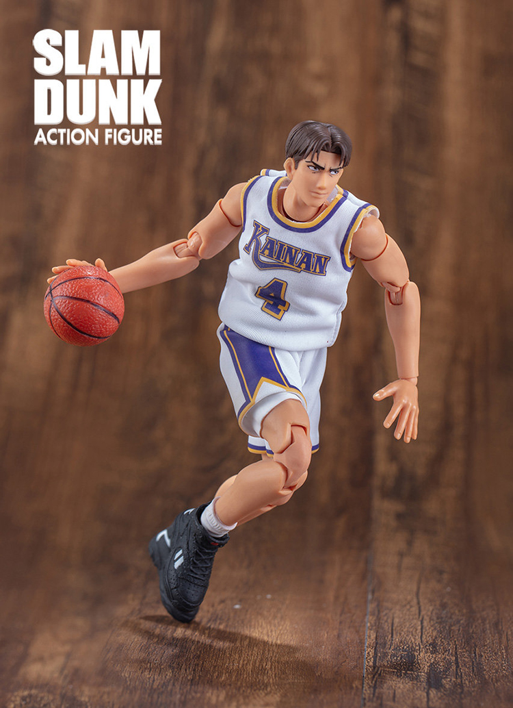 Image 5 - CMT Instock Dasin Model Slam Dunk Basketball Kainan Shinichi Maki  Jin Kiyota TakasagoS.H.F Action Figure Anime PVC Toys FigureAction & Toy Figures   -