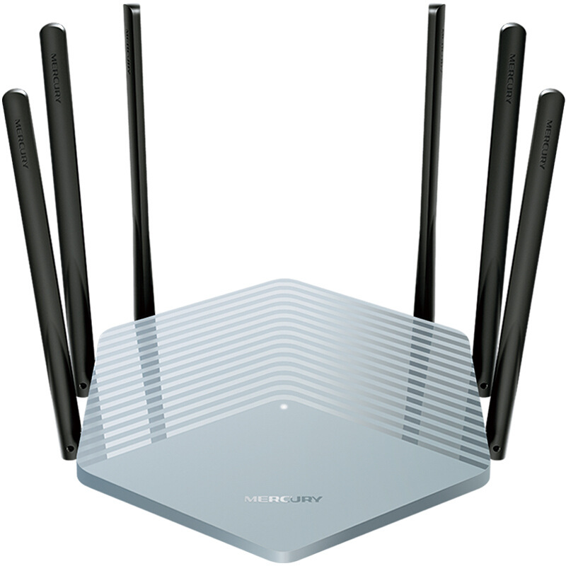 Mercurio Luce di Routing AC1900M Muro Wang Gigabit Routing Senza Fili per Uso Domestico Dual-Band 5G Router D19G