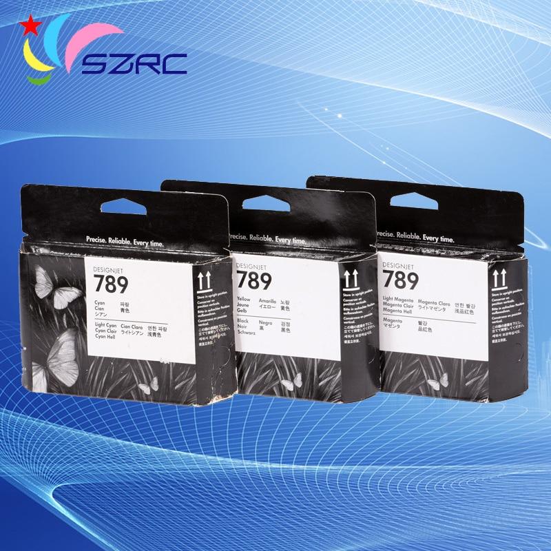 CH612A CH613A CH614A d'origine pour tête d'impression HP789 compatible pour tête d'imprimante HP L25500 tête d'impression expirée 789