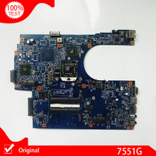 Original For Acer Aspire 7551 7551G Laptop Motherboard JE70-DN 09929-1 48.4HP01.011 main board