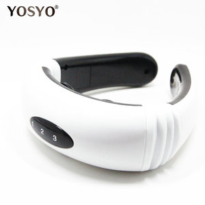 Image 2 - Electric Pulse Back and Neck Massager Far Infrared Heating Pain Relief Tool Health Care Relaxation