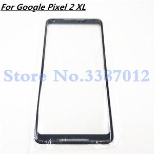 "Image 1 - Original Für Google Pixel 2XL 2 XL XL2 Front Glas 6,0 ""Touch Screen LCD Outer Panel Objektiv Reparatur Teil für Pixel2 XL"
