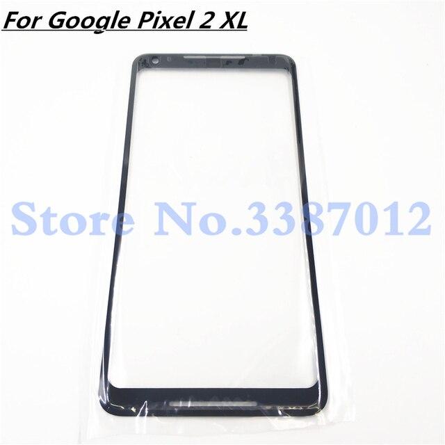 """Original Für Google Pixel 2XL 2 XL XL2 Front Glas 6,0 """"Touch Screen LCD Outer Panel Objektiv Reparatur Teil für Pixel2 XL"""