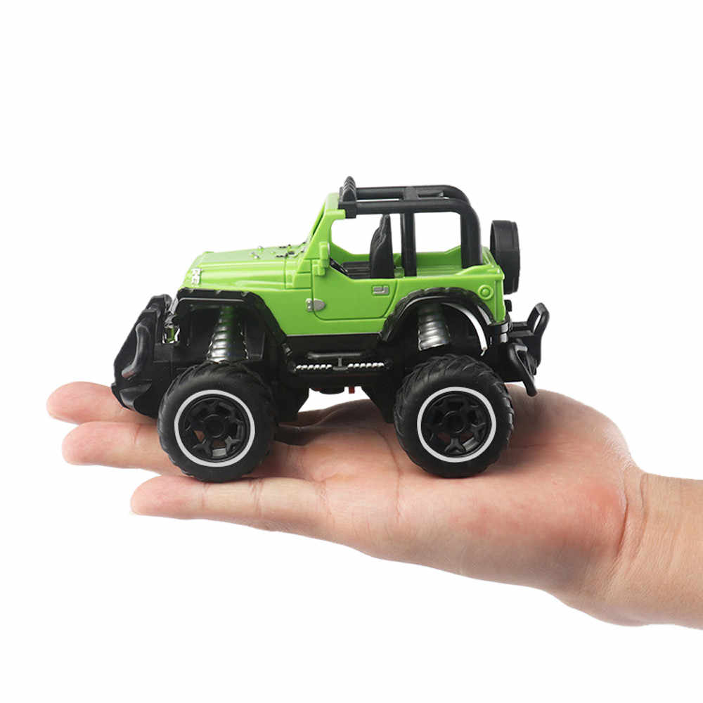 Ngoài Đường Mini RC Xe New Trôi Tốc Độ Điều Khiển Từ Xa Xe Tải RC Đồ Chơi Trẻ Em Sáng Jeep 4 Bánh Xe leo Núi Xe Đồ Chơi Quà Tặng Sinh Nhật