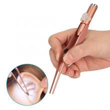 Многофункциональный уход за ушами usb зарядка светодиодный свет пинцеты для ушей Воск палочки набор очиститель ушной серы инструмент для ухода за ушами