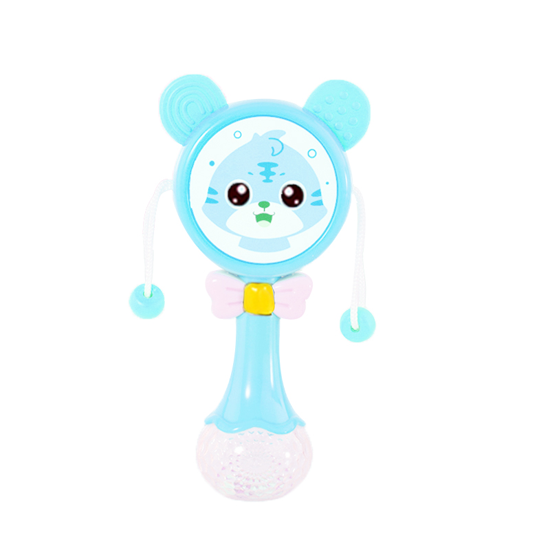 Hipac Baby Music Teether Rattle Animals Cartoon Toys for Children Gifts for Kids 0 12 months Education Mobile Kids Bed Bell|Baby Rattles & Mobiles| - AliExpress