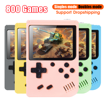 500/800 игра Карманная игровая консоль 3,0 дюймов мини портативная игровая консоль 8 бит Ретро консолей ЖК-дисплей игровая видео приставка для подарки для детей