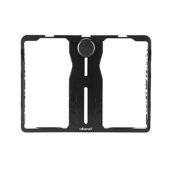 HOT-Ulanzi U-PAD Metal Video Cage Mount with Cold Shoe Mounts Aluminum Alloy Vlog Filmmaking Rig for IPad Microphone LED Video L