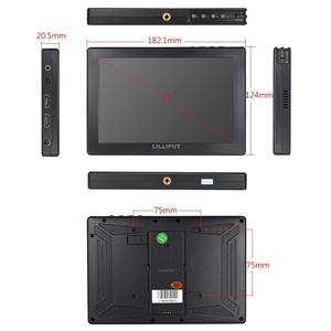 Image 2 - LILLIPUT Monitor de campo de cámara A7S, 7 pulgadas, 1920x1200, HD, IPS, 500cd/m2, 4K, HDMI, asistente de salida de vídeo para DSLR, sin espejo