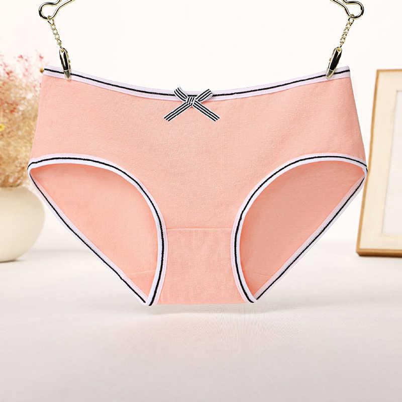 כותנה תחתונים 2020 מוצק נשים של תחתונים נוחות תחתוני עור ידידותי לנשים סקסי עלייה נמוכה תחתונים מקורבי