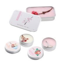 1pc Portable Case Solid Perfume 3 Kinds Of Fragrance Balm Bo