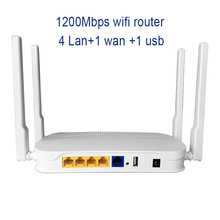 1200Mbps Router Wifi With MTK7628N chipset 2.4G 300Mbps and 5G 867Mbps 5 Port 1200M Openwrt router 5ghz wireless