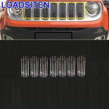 Accessory Parts Decorative Modified Decoration Auto Automovil Car Accessories Racing Grills 16 17 FOR JEEP Renegade