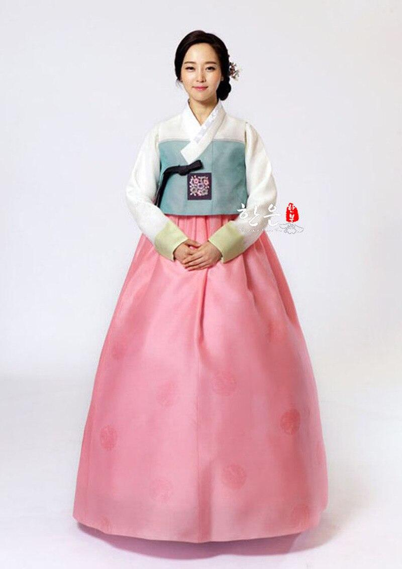 Korea Original Hand Embroidery Hanbok / Wedding Hanbok / Traditional Hanbok / Authentic Hanbok / Including Vest