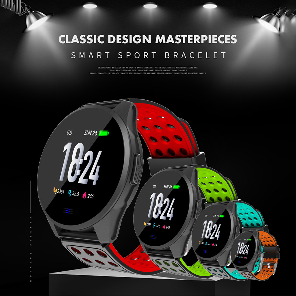 Wristband-Wear Watch-Strap Fitness-Tracker Activity Smart-Watch Sports CK20 Sports