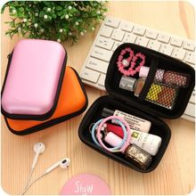 Multi-function Mini Zipper Earphone Card Storage Bag Box Travel Carrying Pouch Earphone Case Box Mini Zippered Storage Portable original kz earphone case fiber zipper headphones hard case storage carrying pouch bag sd card box portable earphone bag