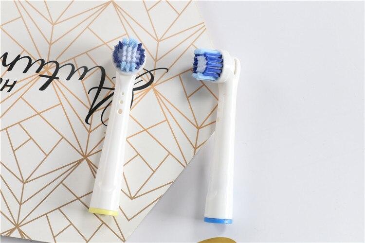 Ya Nuanbeikang головка электрической зубной щетки для взрослых мягкая щетина DuPont щетина роторная универсальная EB20 щетка Сменная головка