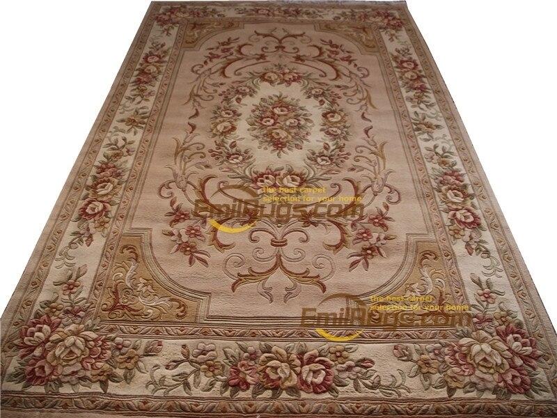 Tapis personnalisé Art décor à la main turc tapis zone tapis rond tapis salle de sol décoration Antique laine à tricoter tapis