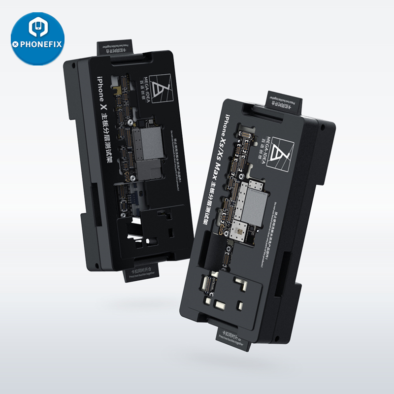 QIANLI Manufacture MainBoard Layered Testing Frame For IPhone X XS MAX Middle Level Radio Frequency Logic Board Function Tester