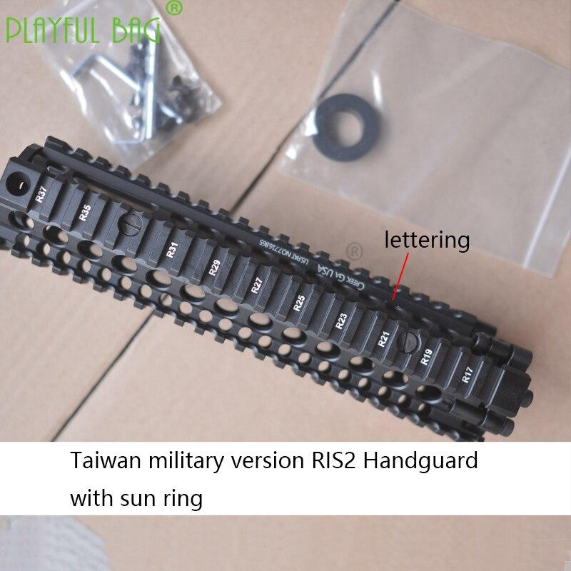Outdoor Sports Fun Toy MK18 RIS2 Handguard Fish Bone MOD1 Military Version Standard 9.5-inch Upgrade Ring Water Bullet Gun OD71