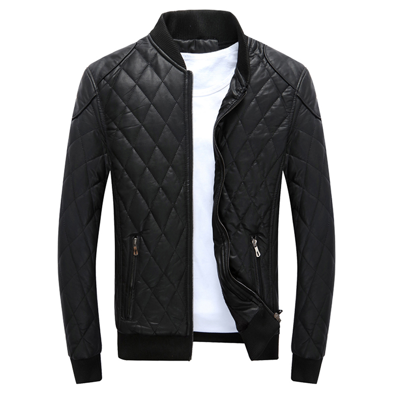 Men Zipper Parkas Autumn Male Warm Coat With Pockets Male Clothing Fashion Long Sleeve Solid Color Coat Outerwear